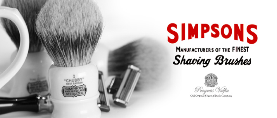 Simpsons Shaving Brushes