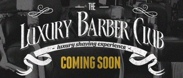 Coming soon luxury barber