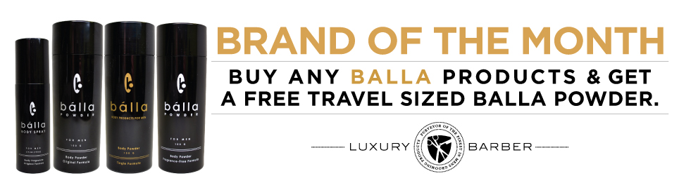 Luxury Barber brand of the month