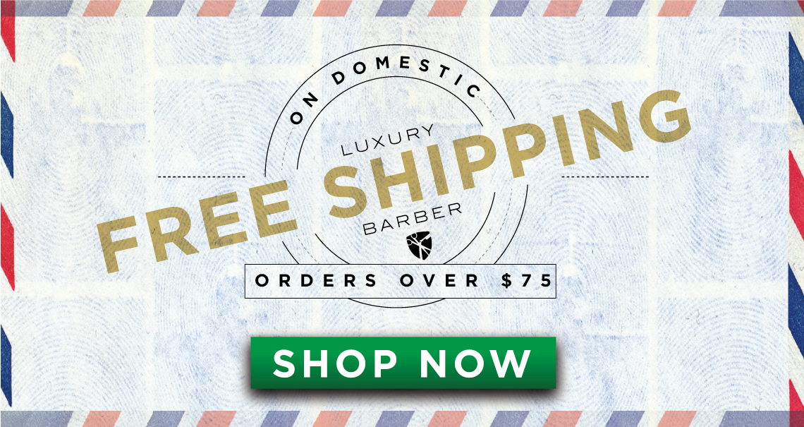 Free domestic shipping on order of $75