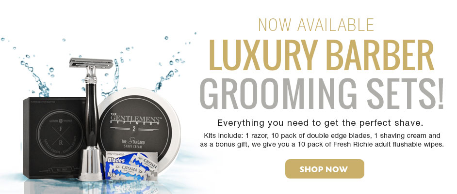 Luxury Barber grooming sets