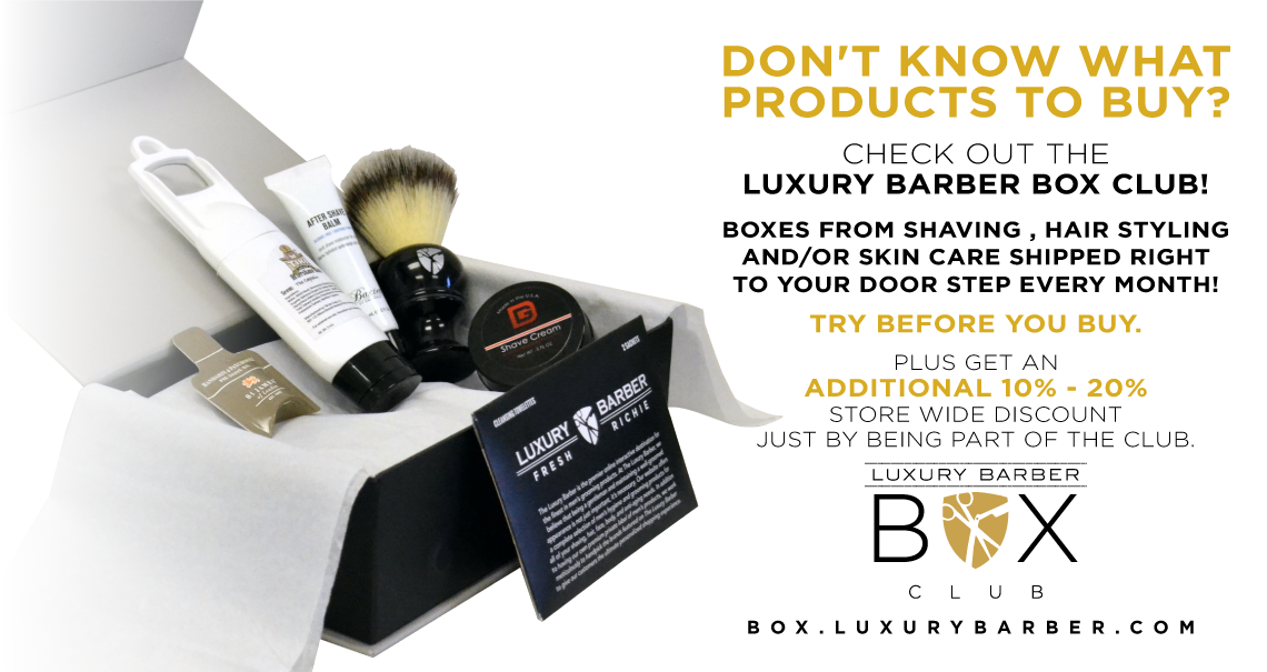 Luxury Barber Box Club
