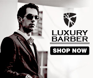 Luxury Barber: Men's shaving products