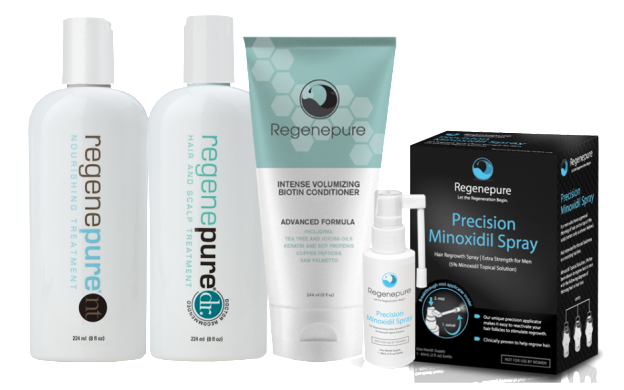 "Luxury Barber Offers ""Regenepure Precision Minoxidil Spray Pack"" Promotion"