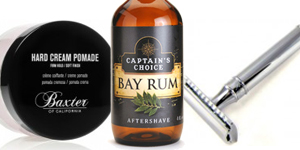 Luxury Barber Proudly Carries Captain's Choice