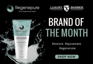 Luxury Barber Selects Regenepure as Brand of the Month for December